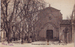CPA Forcalqueiret - Place De L'Eglise - Altri Comuni