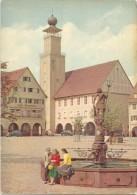 T264 Freudenstadt Im Schwarzwald - Marktplatz Mit Neptunbrunnen Und Rathaus / Non Viaggiata - Freudenstadt
