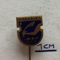 Badge (Pin) ZN003718 - Croatia (Hrvatska) Makarska (Macarsca / Macharscha) - Cities