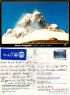 Mt Ruapehu, New Zealand Postcard Posted 2011 Stamp - New Zealand