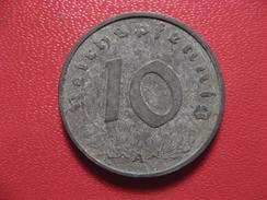 Allemagne - 10 Reichspfennig 1942 A 8316