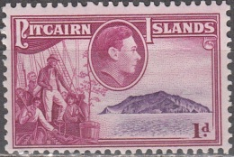 Pitcairn Islands 1940 Michel 2 Neuf ** Cote (2005) 0.60 Euro Roi George VI Christian Fletcher - Pitcairn