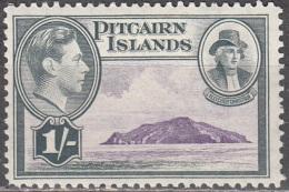 Pitcairn Islands 1940 Michel 9 Neuf ** Cote (2005) 3.20 Euro Roi George VI Christian Fletcher - Timbres