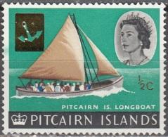 Pitcairn Islands 1967 Michel 72 Neuf ** Cote (2005) 0.20 Euro Chaloupe - Pitcairn