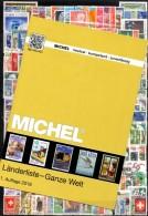 MlCHEL Länderliste 2016 Neu Plus 300 Briefmarken Ganze Welt O 90€ Various Topics Stamps And New Catalogue Of The World - Livres & CDs