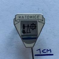 Badge (Pin) ZN003764 - Poland (Polska) Katowice (Kattowitz / Katowicy) - Cities