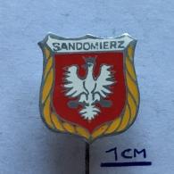 Badge (Pin) ZN003766 - Poland (Polska) Sandomierz (Sandomir / Tsuzmir / Szondamér) - Città