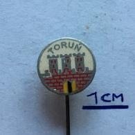 Badge (Pin) ZN003767 - Poland (Polska) Toruń (Thorn / Toronya / Torń) - Cities
