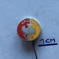 Badge (Pin) ZN003769 - Poland (Polska) Wrocław ( Wroclaw / Breslau / Vratislav / Vratislavia) - Città