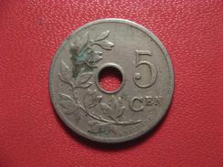Belgique - 5 Centimes 1905 8398 - 1865-1909: Leopold II
