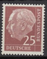 BRD 186 Y, Postfrisch **. Heuss 1954 - [7] República Federal