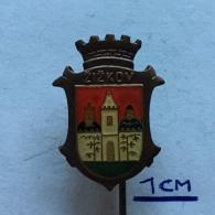 Badge (Pin) ZN003777 - Czech Republic (Ceska) Zizkov Prague (Praha / Prag) - Città