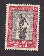 Danzig, Scott #B7, Mint Hinged, Neptune Fountain, Issued 1929 - Danzig