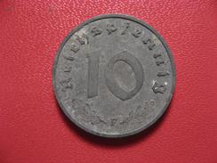 Allemagne - 10 Reichspfennig 1942 F 8202