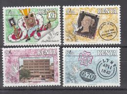 1990 Kenya London 90 Penny Black  Complete Set Of 4 MNH - Kenia (1963-...)