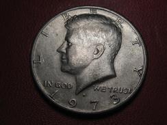 Etats-Unis - USA - Half Dollar 1973 D 8642 - Federal Issues