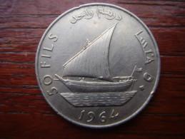 YEMEN - SOUTH ARABIA 1964  FIFTY FILLS Copper-Nickel USED COIN. (Ref:HG26) - Yemen
