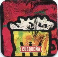 Lote P132, Peru, Posavaso, Coaster, Cusqueña, Pintura, Jarra (not Perfect Coaster) - Sous-bocks