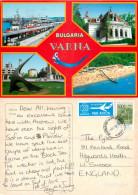 Varna, Bulgaria Postcard Posted 1999 Stamp - Bulgaria