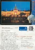 Tivoli, Copenhagen, Denmark Postcard Posted 2008 Stamp - Danemark