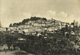 Amandola (Fermo) Panorama VG 1957 - Italia