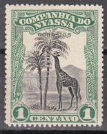 NYASSA    SCOTT NO   108    MINT HINGED     YEAR  1921 - Nyassa