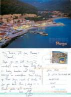 Parga, Epirus, Greece Postcard Posted 2009 Stamp - Greece