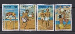 Tokelau Mi 70-73 Sports - Athletics - Volleyball - Running - Pole Vaulting - 1981 * * - Tokelau