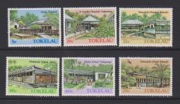 Tokelau Mi 123-128 Building -  Hospitals And Schools - Atafu - Nukunono - Fakaofo - St. Joseph's Hospital - 1986 ** - Tokelau