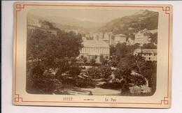 Photographie Photo Royat Le Parc Puy De Dôme - Ancianas (antes De 1900)