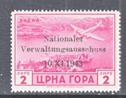 GERMAN  OCCUP.  MONTENEGRO  3 N C 3   * - Montenegro