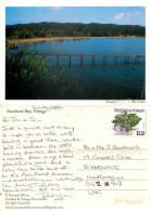 Courland Bay, Tobago, Trinidad & Tobago Postcard Posted 2011 Stamp - Trinidad