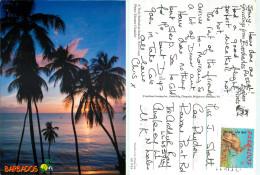 West Coast, Barbados Postcard Posted 2003 Stamp - Barbados