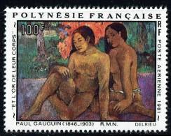 1981  Tableau De Gauguin «…et L'or De Leurs Corps»  Yv PA 160  ** - Polynésie Française