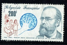 1982  Robert Koch, Bacille De La Tuberculose  Yv PA 167  Oblitéré - Polynésie Française