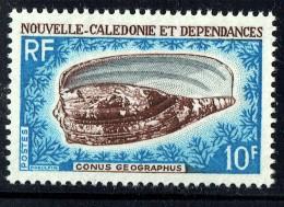 1968    Conus Geographus  Yv 354  ** - New Caledonia