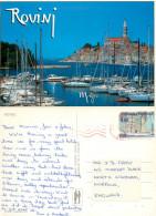Rovinj, Croatia Postcard Posted 1999 Stamp - Croatia