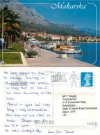 Makarska, Croatia Postcard Posted 2012 Stamp - Croatia