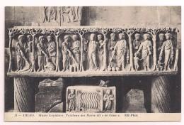 """13 - ARLES - Musée Lapidaire - Tombeau Des Noces Dit """"de Cana"""" - Ed. ND Phot N° 51 - Arles"""
