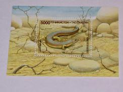 TADJIKISTAN  1995   LOT# 2  REPTILE S/S - Tadjikistan