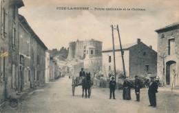 26 - SUZE-LA-ROUSSE - Drôme - Route Nationale Et Le Château - Sonstige Gemeinden