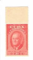 Cuba Timbre 2e Anniversaire De La Mort De F. Roosevelt** MNH - Cuba