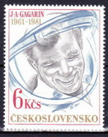 ** Tchécoslovaquie 1981 Mi 2611 (Yv Timbre De BF 49), MNH - Czechoslovakia