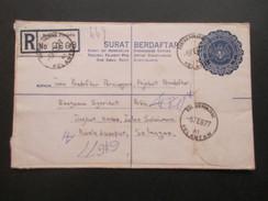 Asien Malaysia Registered Letter R Raniau Paniang No 0669 Nach Kuala Lumpur. Kelantan. 5 Stempel! - Malaysia (1964-...)