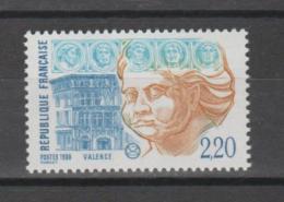 FRANCE / 1988 / Y&T N° 2534 ** : Valence - Gomme D'origine Intacte - Francia