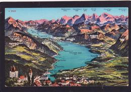 Old Post Card Of Thun, Und Thunersee,Berne,Switzerland,Y2. - Otros