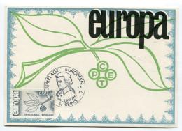 LOT De 2 Cpm  EUROPA Jumelage  Reims  Salzbourg 1965 - Autres