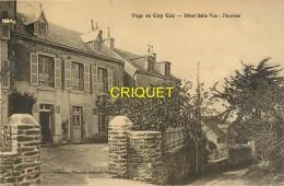 29 Plage Du Cap Coz, Hotel Belle Vue, L'Arrivée, Cliché Pas Très Courant - Sonstige Gemeinden
