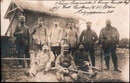 ! 1916 Alte Fotokarte, Ostfront, 1. Weltkrieg, Photo, Soldatenfoto, Militaria, Nowo Swerjany - Guerre 1914-18