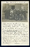 Cpa Carte Photo Du 62 Grève Des Mineurs à Lens Fosse No 12 En 1906 ... Mine     NCL8bis